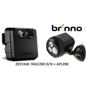 Brinno Kamera Ochronna MAC200 i Iluminator APL200